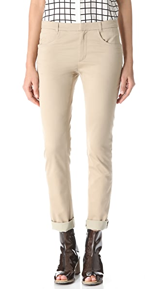 Band of Outsiders Evelyn Straight Leg Pants
