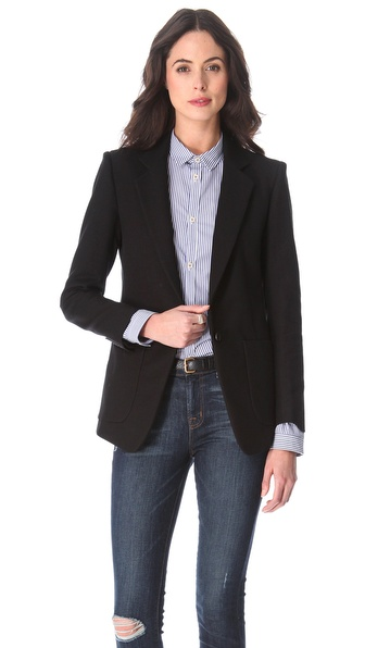 Band of Outsiders Notched Lapel Blazer