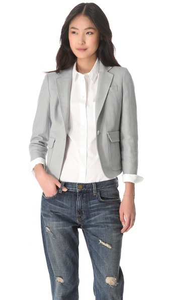 Boy. by Band of Outsiders Linen & Cotton Blazer