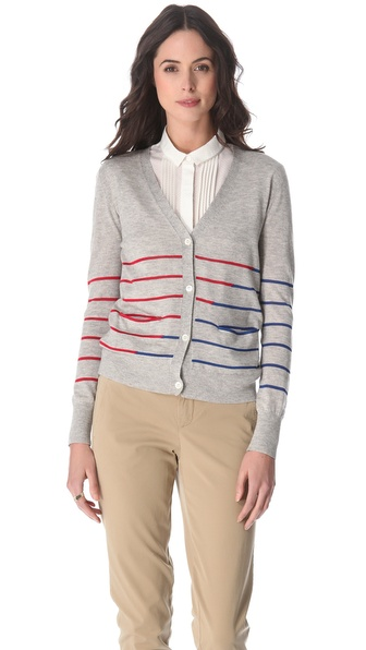 Boy. by Band of Outsiders Striped Cardigan