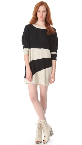Boy. by Band of Outsiders Striped Sweater Dress