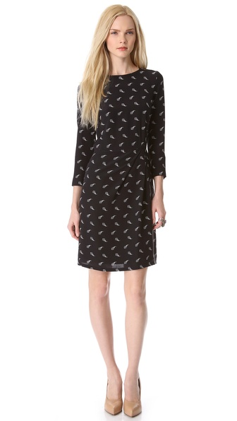 Band of Outsiders Long Sleeve Dress
