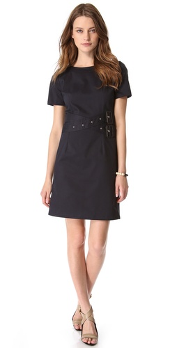 Band of Outsiders Belted Dress