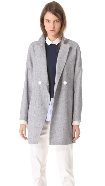 Band of Outsiders Drop Shoulder Coat