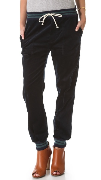 Band of Outsiders Drawstring Corduroy Pants