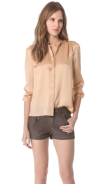 Band of Outsiders Pleated Blouse