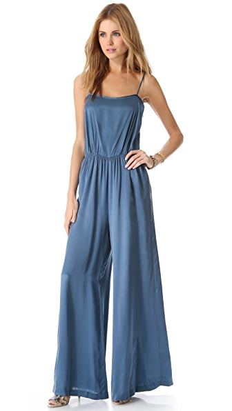 Band of Outsiders Wide Leg Jumpsuit