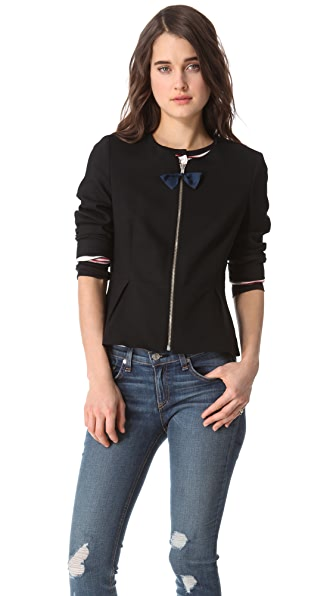 Band of Outsiders Peplum Jacket