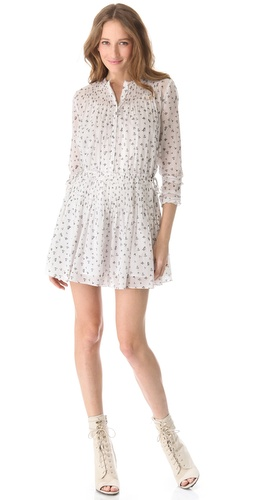 Band of Outsiders Little Iris Pintuck Dress