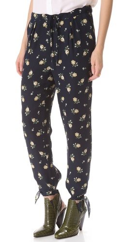 Band of Outsiders Floral Pants