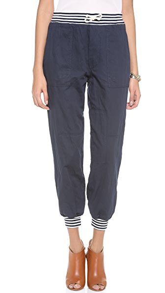 Band of Outsiders Patchwork Drawstring Pants