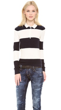 Band of Outsiders Rugby Sweater