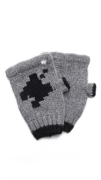 Band of Outsiders Combat 2600 Fingerless Gloves