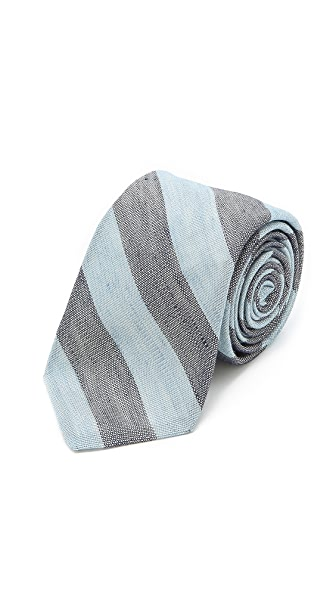 Band of Outsiders Linen Stripe Tie