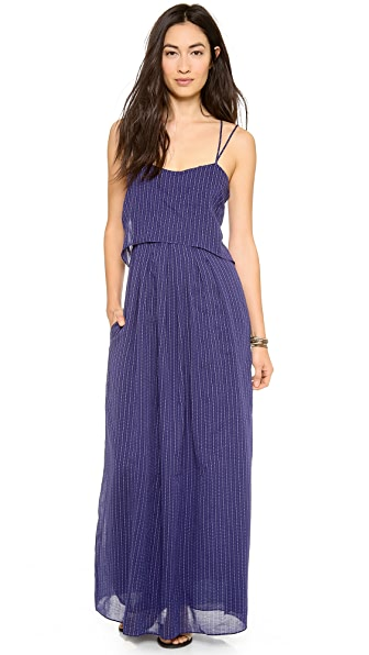 Band of Outsiders Chain Print Maxi Dress