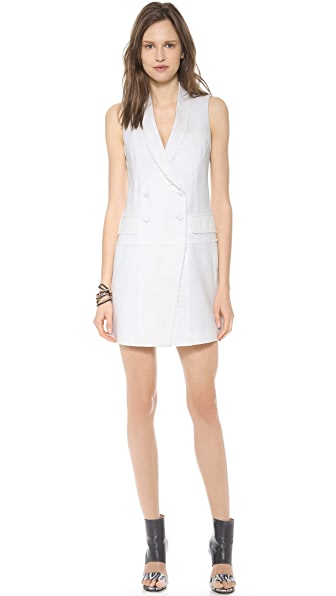 Band of Outsiders Sleeveless Blazer Dress