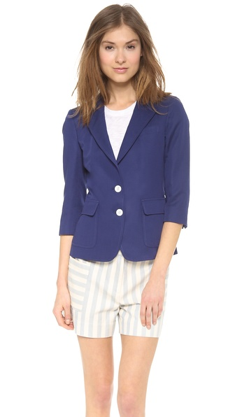 Band of Outsiders Suiting Schoolboy Jacket