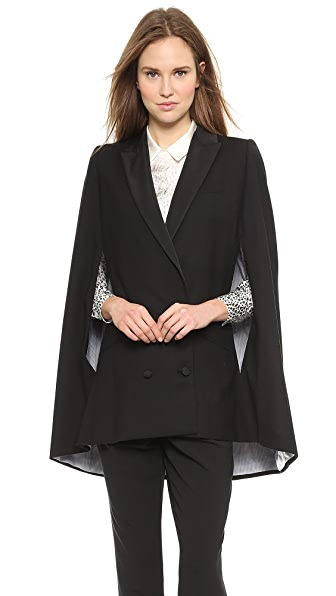 Band of Outsiders Peak Lapel Cape