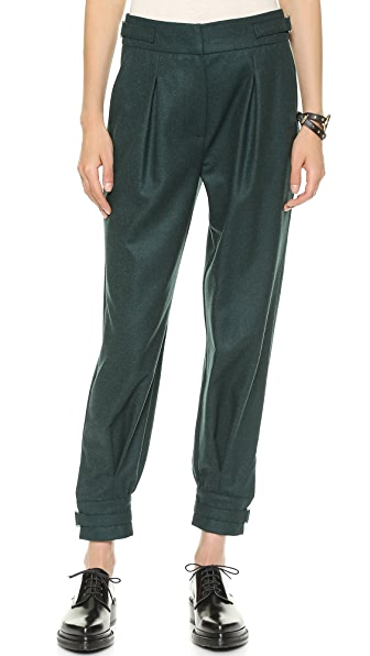 Band of Outsiders Slouchy Cuffed Pants