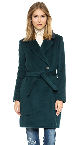 Band of Outsiders Trompe L'Oeil Welt Coat