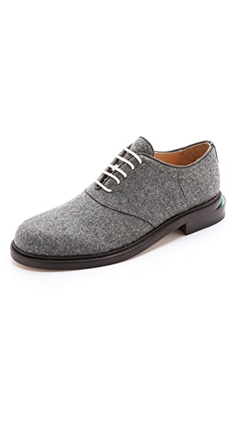 Band of Outsiders Felted Wool Oxfords