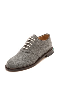 Band of Outsiders Felted Saddle Shoes