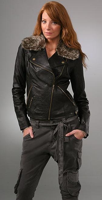 BB Dakota Manderson Leather Jacket