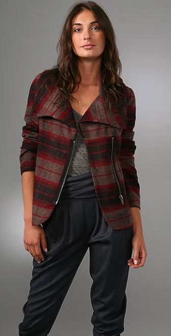 BB Dakota Gunnison Plaid Jacket