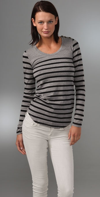 BB Dakota Lindon Striped Top