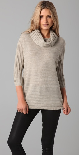 BB Dakota Kent Cowl Neck Sweater