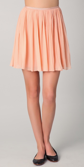 BB Dakota Kaley Pleated Skirt