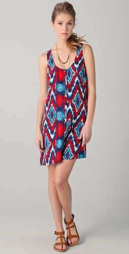 BB Dakota Jacinda Print Tank Dress