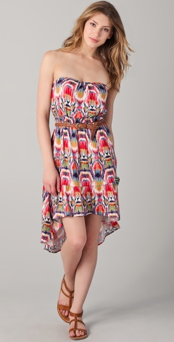 BB Dakota Kylene Marrakesh Strapless Dress