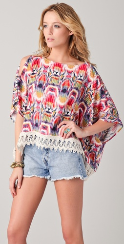 BB Dakota Macaria Marrakesh Print Top