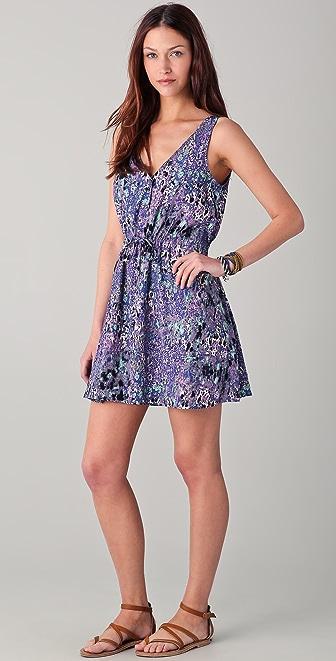 BB Dakota Halia Printed Dress