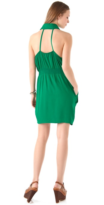 BB Dakota Ebell Halter Dress