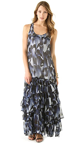 BB Dakota Tasha Print Maxi Dress