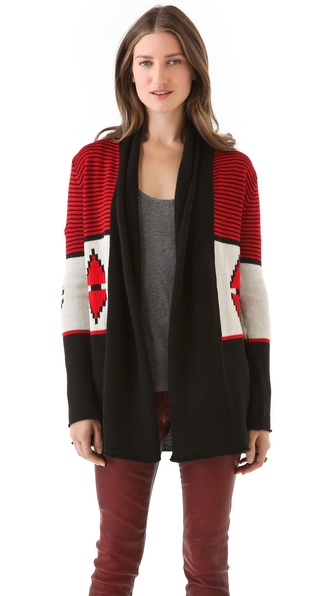 BB Dakota Elijah Colorblock Cardigan