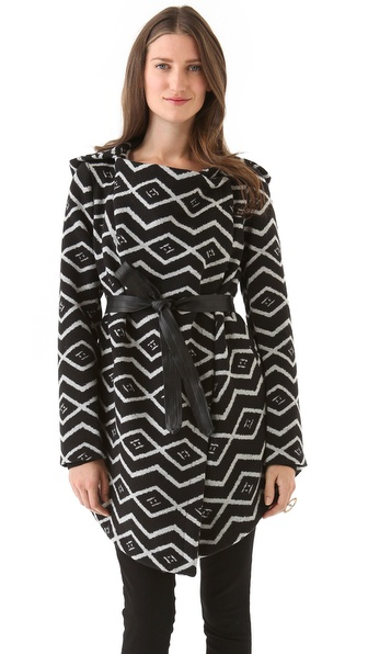 BB Dakota Alder Azra Pattern Coat