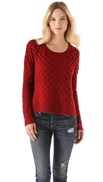 BB Dakota Laurine Cable Knit Sweater
