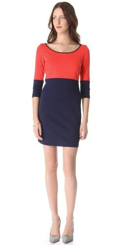 BB Dakota Lewis Colorblock Dress