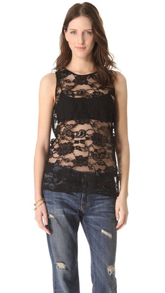 BB Dakota Lace Front Top