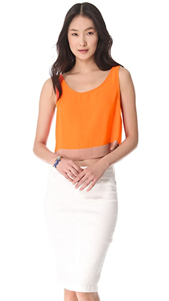 BB Dakota Aldis Cropped Tank