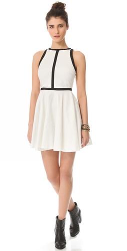 BB Dakota Jamila Contrast Trim Dress