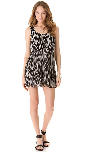 BB Dakota Lissa Print Dress