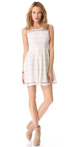 BB Dakota Jacynth Cotton Crochet Dress