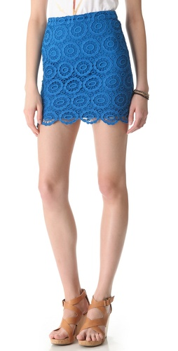 BB Dakota Williams Crochet Skirt