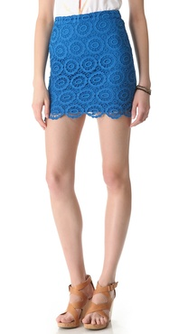 BB Dakota Williams Crochet Skirt