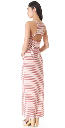 BB Dakota Cannon Stripe Maxi Dress