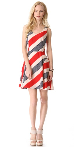 BB Dakota Gwynn Stripe Dress